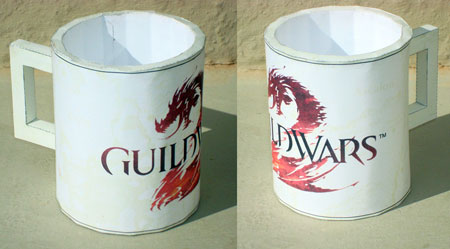 Guild Wars 2 Papercraft Mug