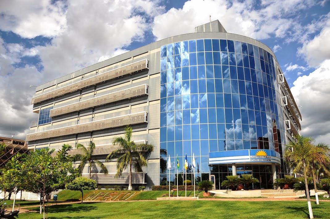 Sede definitiva da PGJ, em Palmas, inaugurada em 2005¿.