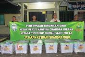 Kesdam Iskandar Muda Terima Bantuan dari Ketum Persit KCK Pusat