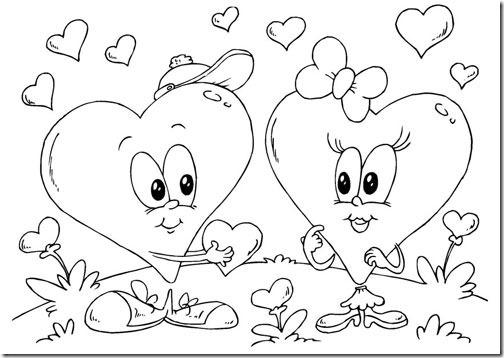 corazones amor pintaryjugar com (9)