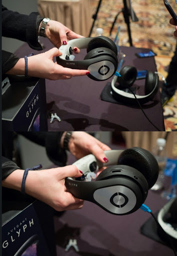 Avegant's Glyph Is The Next Generation Of Headphones : You Can Watch Movies With It 3