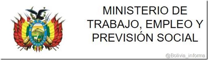 Ministerios de Bolivia