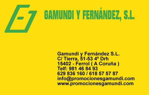 Promociones Gamundi y Fernández, S.L, colaborador coa A.D.R. Numancia de Ares.