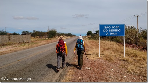 A caminho de São José do Seridó