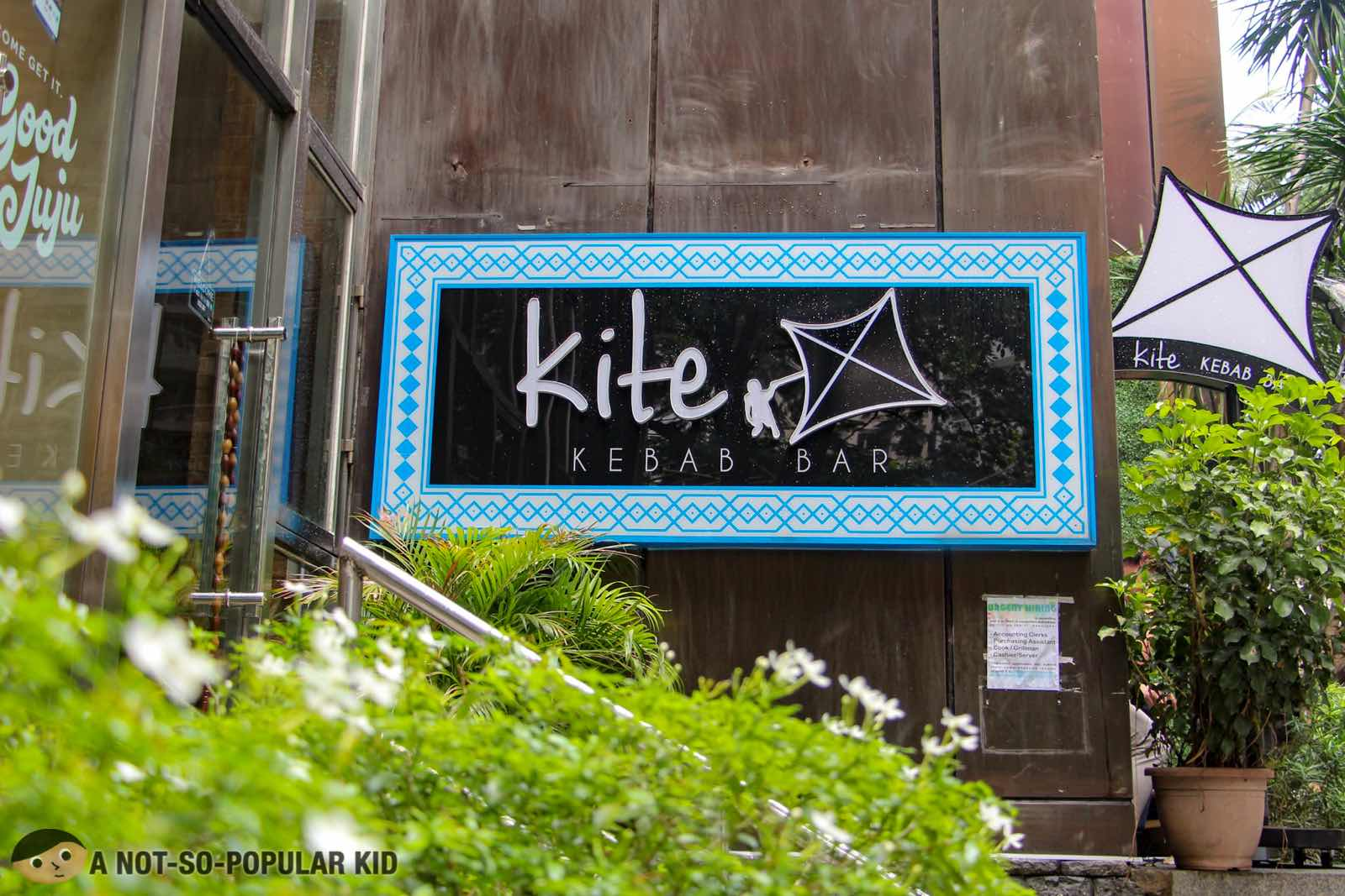 Kite Kebab Bar in Tordesillas Street, Makati