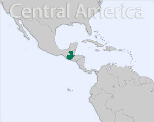 Guatemala location map