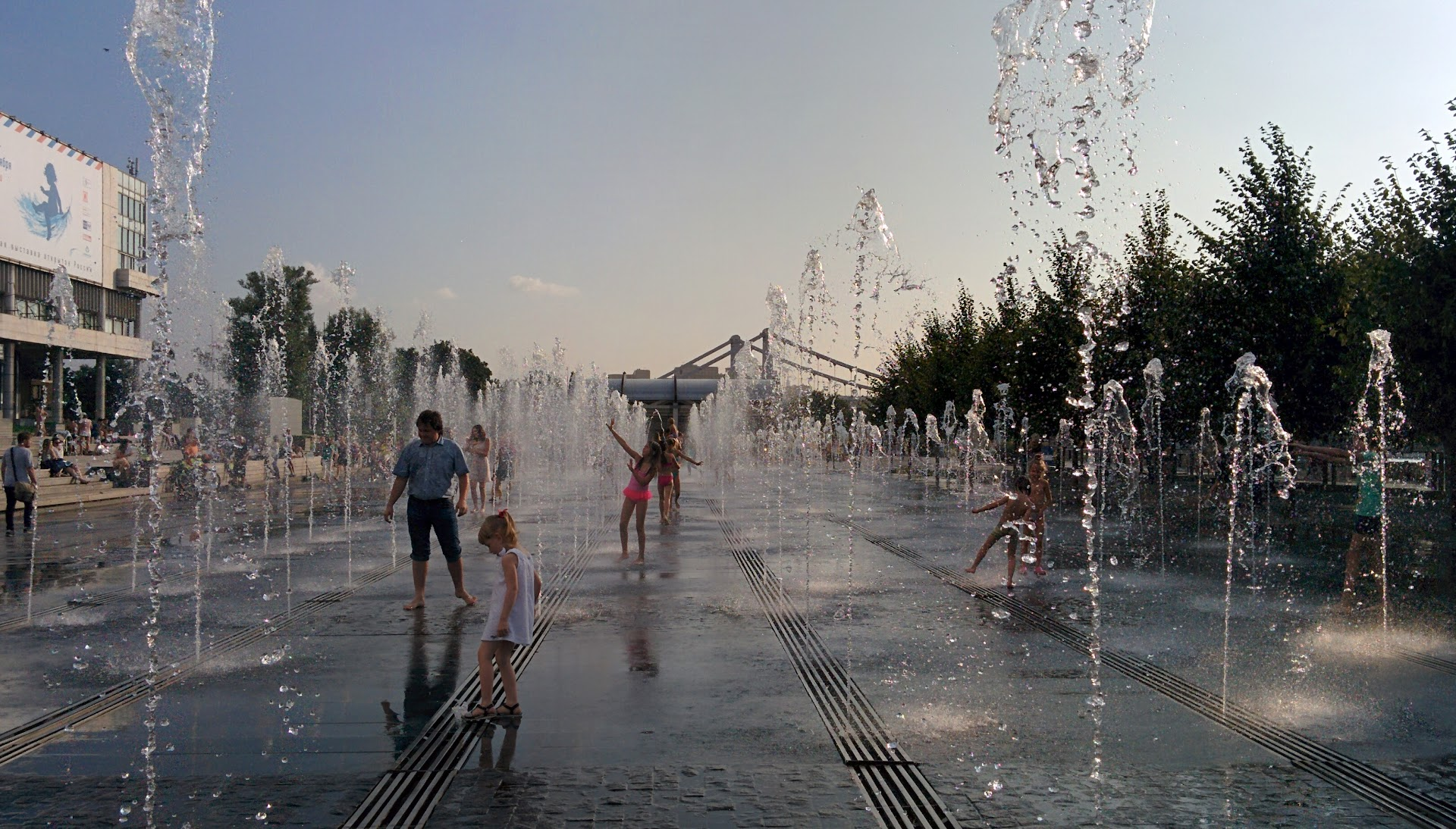 Dancing with the fountains
