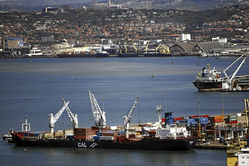 Trade: A container ship docking at Durban Port. Members of the Tripartite Free Trade Area in Africa are finalising rules on how products imported from nonmember countries will be treated.Picture: MARIANNE SCHWANKHART/THE TIMES
