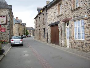Photo: Lohéac et ses maisons typiques