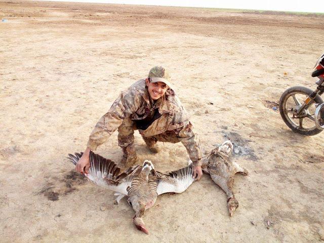 صيد اوز في العراق