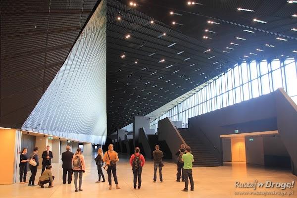 Międzynarodowe Centrum Kongresowe - węglowe wnętrza