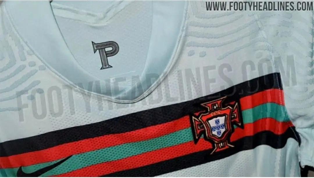 gambar ringan Bocoran Kit Portugal away Euro 2020-2021
