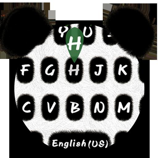 Cute Panda Keyboard Theme Icon