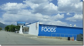 Blue Mountain Foods Grocery,  Monticello Utah