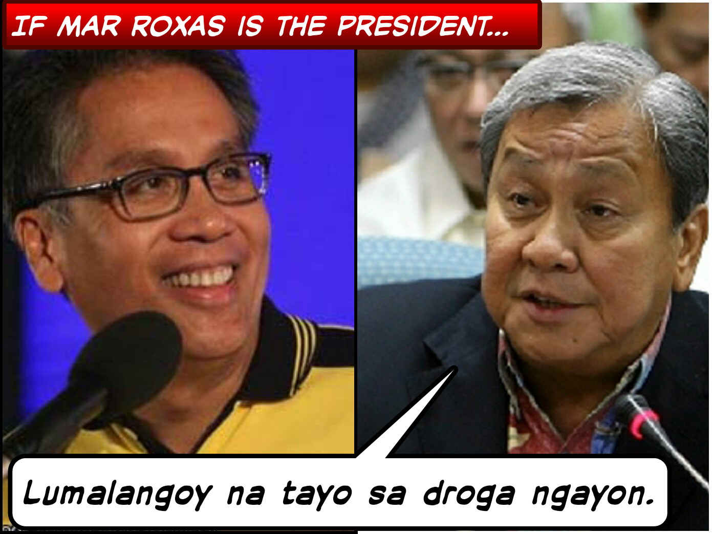 Image of says Atienza if Mar Roxas Won as the President