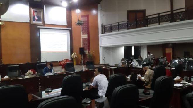 Tampung Masukan Stakeholder Terkait RPJMD 2021-2026, DPRD Sumbar Gelar Hearing