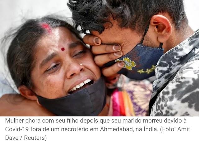 'Orem por nós', apela pastor diante de milhares de mortes pela 2ª onda da Covid na Índia
