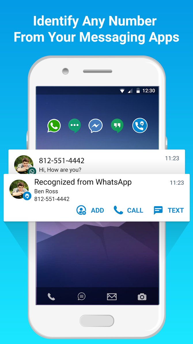 CallApp: Caller ID, Block & Phone Call Recorder Android 8