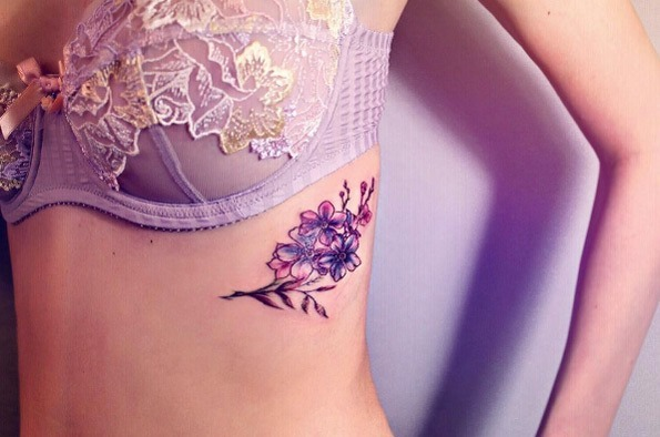 este_colorido_floral_torcica_peça