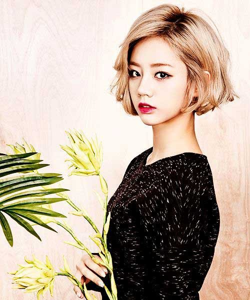 Lovely Korean Haircut