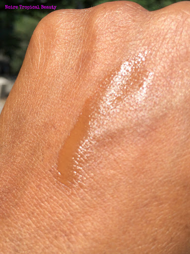 NoireTropicalBeauty MUFE Ultra HD foundation dark skin review