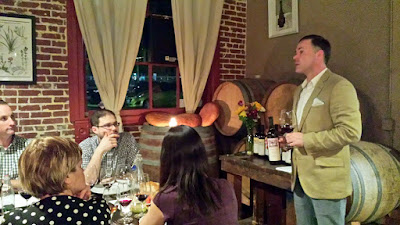 Jeff Veir talks about the next wine pairing, a Pheasant's Tears Saperavi 2013