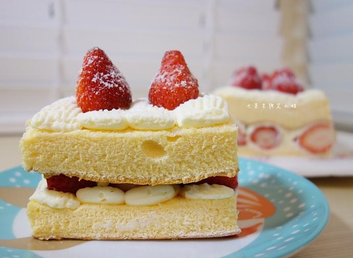 8 士林宣原烘焙蛋糕專賣店原味雙層草莓蛋糕巧克力雙層草莓蛋糕草莓重乳酪