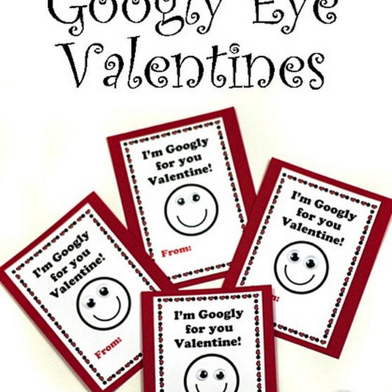 Easy Googly Eye Valentines