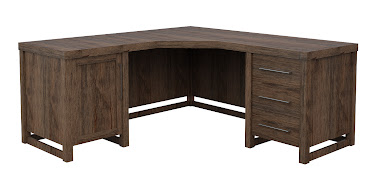 Sumatra L-Shaped Desk