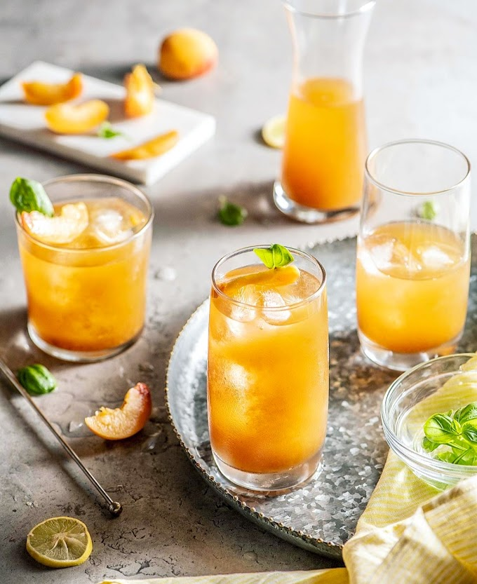 Apricot Iced Tea Recipe | Breakfast Care