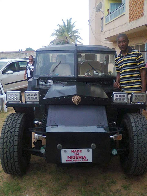 Would You Drive This Car Developed By A Nigerian Start-up 3