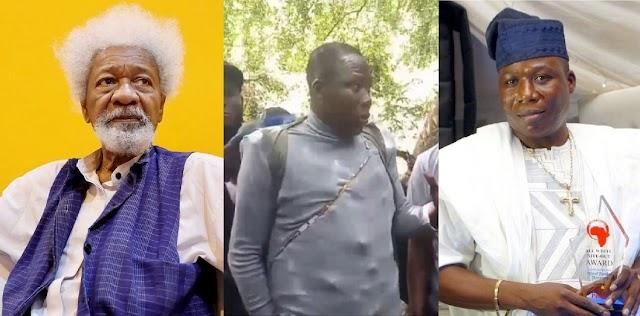 FG Should Apologize To Igboho And Stop Chasing Him Like A Criminal – Wole Soyinka