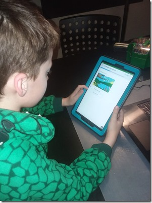 IXL on Tablet