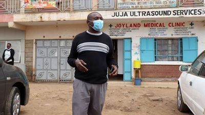 Trending video of the Juja man who died on Coronavirus photos too