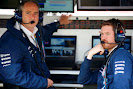 .Peter Vale and Rob Smedley Williams F1