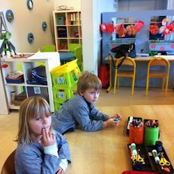 Integratie: Kleuters op bezoek in het 1ste leerjaar