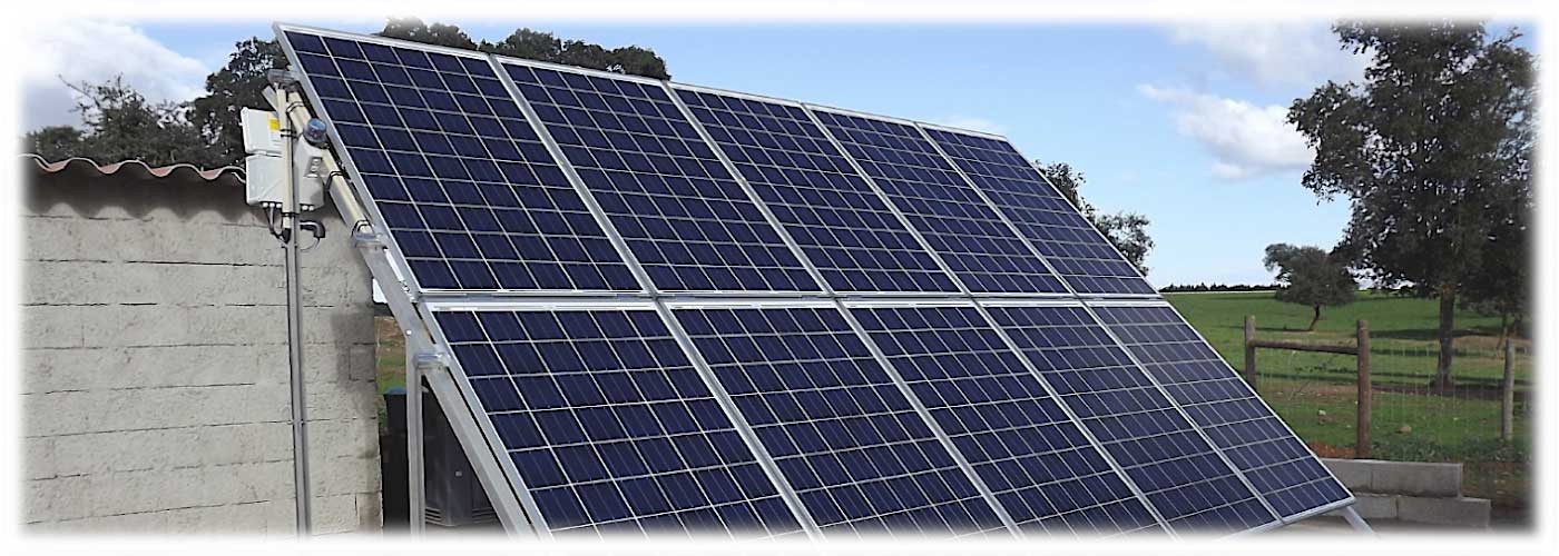 Sistemas Solares Aproveite com eficácia a energia do Sol para os seus equipamentos de uma forma sustentável e económica através de painéis fotovoltaicos.