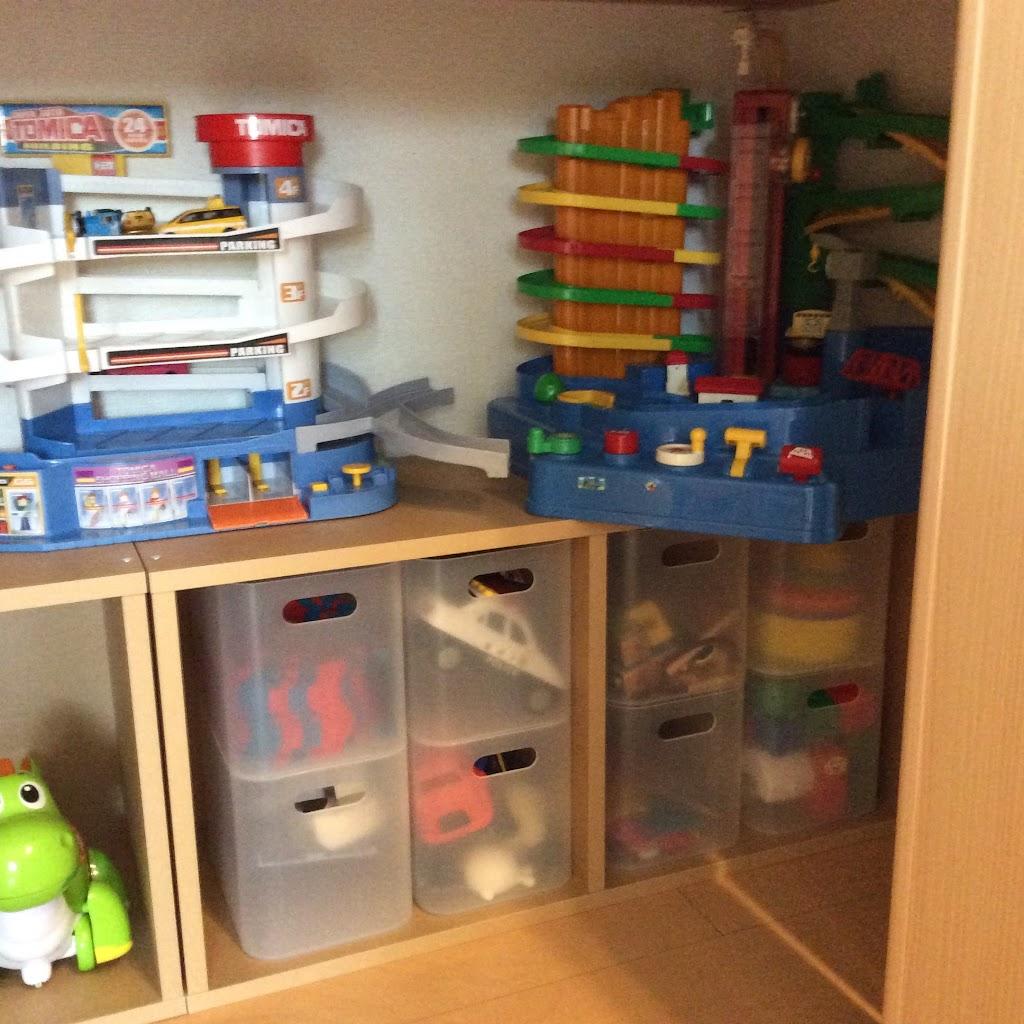 無印良品スタッキングシェルフは子供のおもちゃ収納におすすめか? - 家計とお買いモノと。