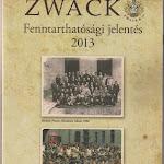 """""""Zwack fenntarthatósági jelentés"""", Zwack Unicum Nyrt, Budapest 2014.jpg"""