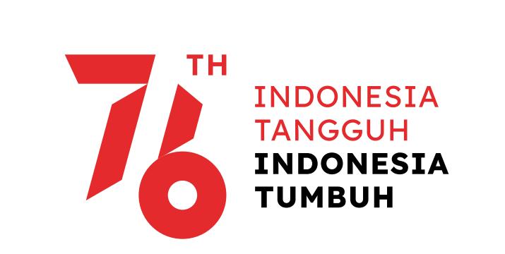 Tema dan Logo Peringatan Hari Ulang Tahun (HUT) Kemerdekaan RI Ke-76 tahun 2021