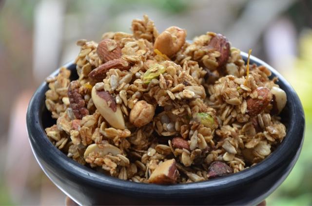 Ndudu by fafa nutty granola recipe nutty granola recipe forumfinder Choice Image