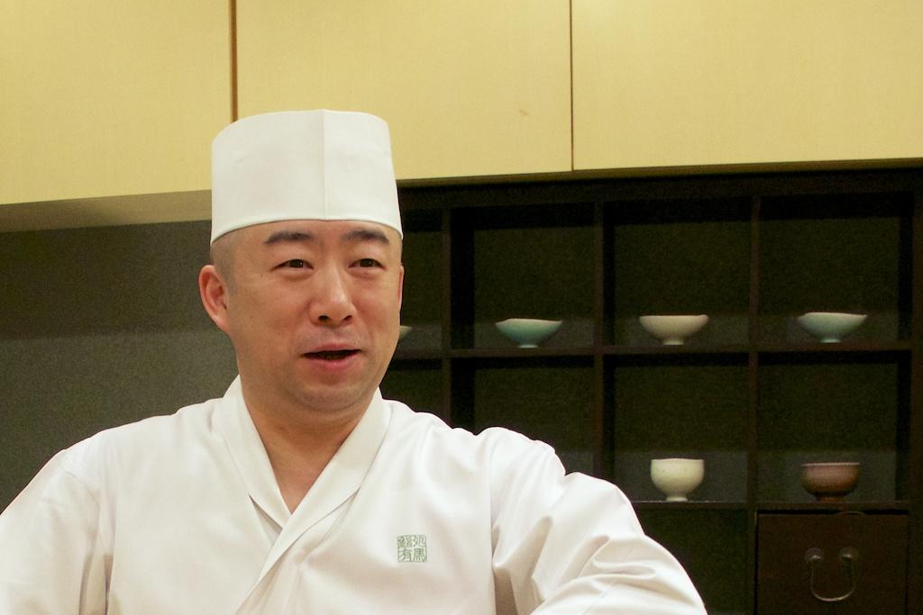 鮨処有馬(札幌市)店主・有馬正隆さんは北竜町のご出身