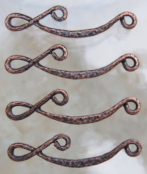 Copper Links from Beads and Babble