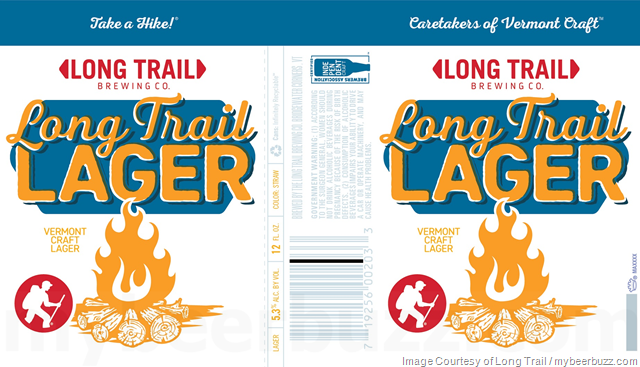 Long Trail Adding Long Trail Lager Cans
