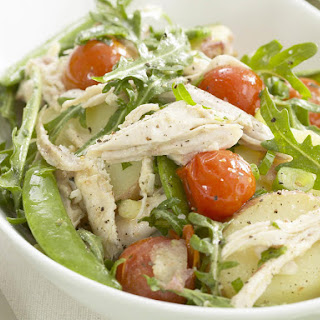 Chicken, Potato and Mint Salad