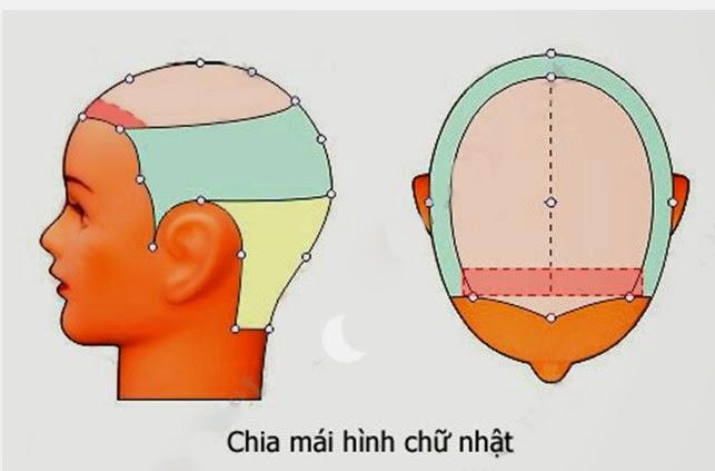 Day cat toc nu co ban huong dan cat toc mai 1 Dạy cắt tóc nữ cơ bản, Kiểu tóc ngang chúi tầng thấp