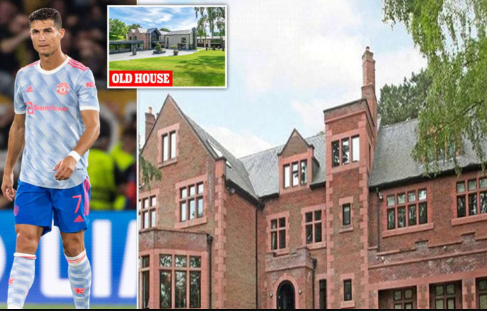 Villagers say Cristiano Ronaldo may have quit his £6m Cheshire mansion because fans could see into his bedroom