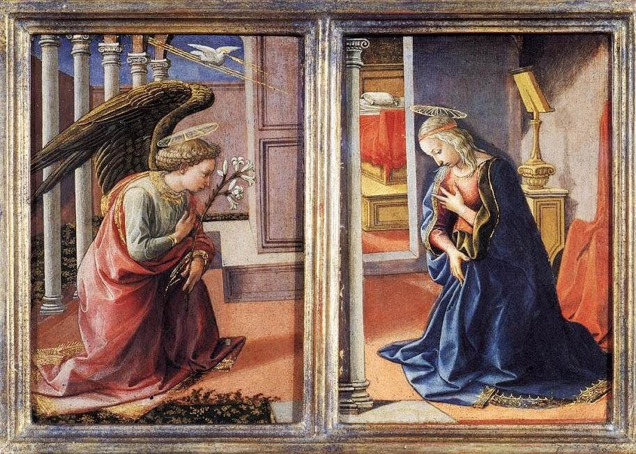 Francesco Pesellino - The Annunciation