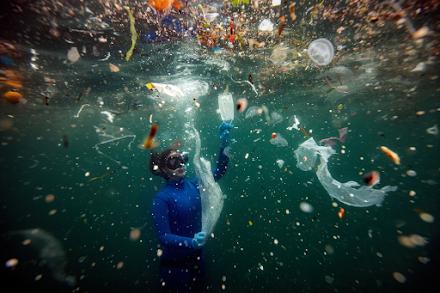 Πλαστικά στη θάλασσα : Μία από τις μεγαλύτερες απειλές για τη σωτηρία του πλανήτη