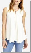 Phase Eight Ivory Sleeveless Top